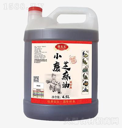 张太太 小磨芝麻油 4.5L