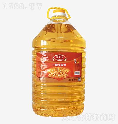 张太太 一级大豆油 20L