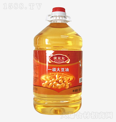 张太太 一级大豆油 5L