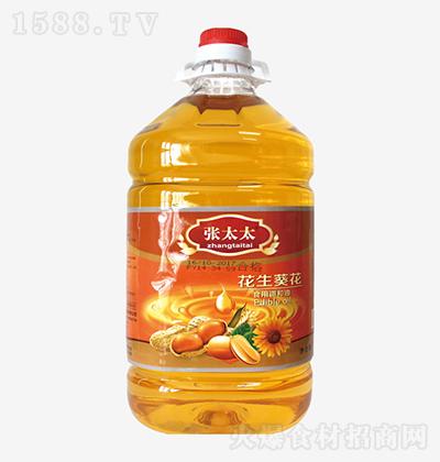 张太太 花生葵花食用调和油 5L