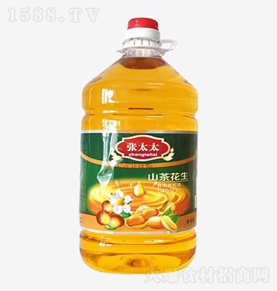 张太太 山茶花生食用调和油 5L