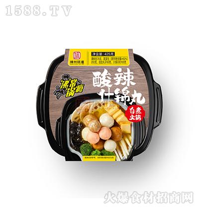 神州味道 酸辣什锦丸自煮火锅 425g