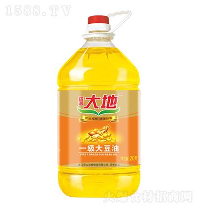 香源大地 一级大豆油 20升