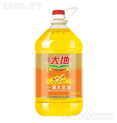 香源大地 一级大豆油 5升