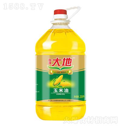 香源大地 玉米油 20升