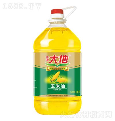 香源大地 玉米油 11升