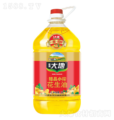 香源大地 臻品小榨花生油 5L