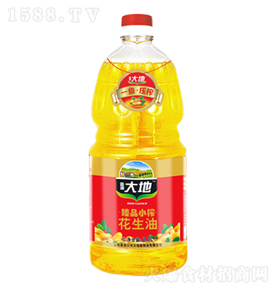 香源大地 臻品小榨花生油 2.5L