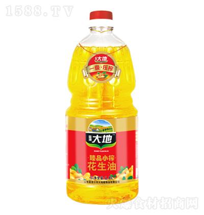 香源大地 臻品小榨花生油 1.8L