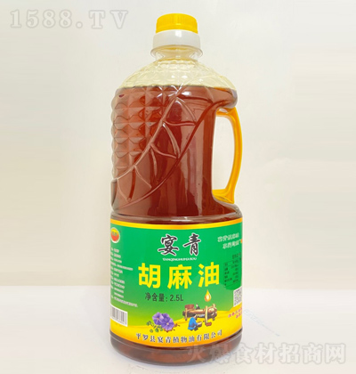 宴青 胡麻油 2.5L