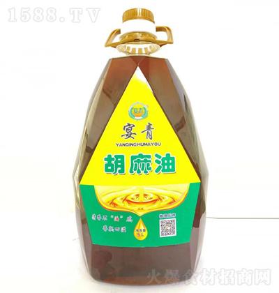 宴青 胡麻油 5L