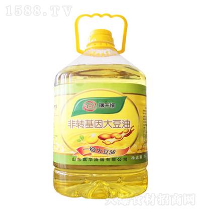 瑞千家 一级大豆油 5L