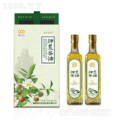 神农茶油 清香型纯山茶油双瓶礼盒装