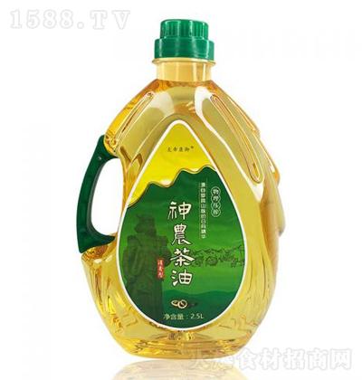 炎帝康御 浓香型纯山茶油 2.5L