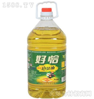 好恰 山茶油 5L