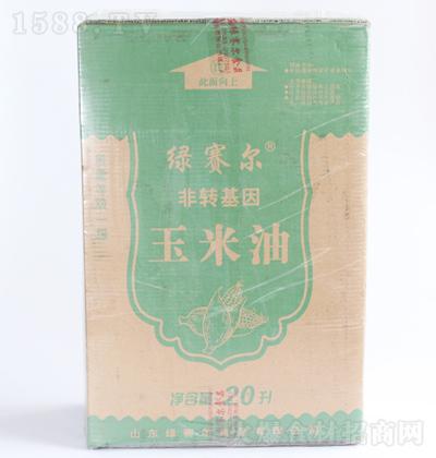绿赛尔 软包装玉米油 20L