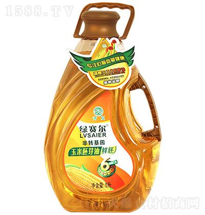 绿赛尔 玉米胚芽油 5L