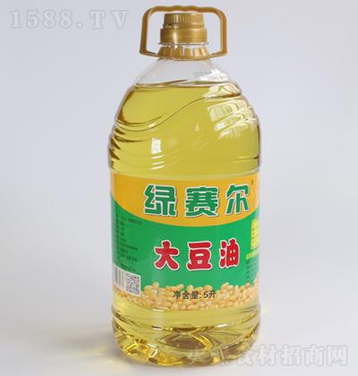 绿赛尔 大豆油 5升