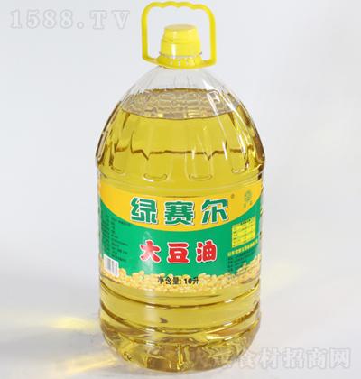 绿赛尔 大豆油 10升