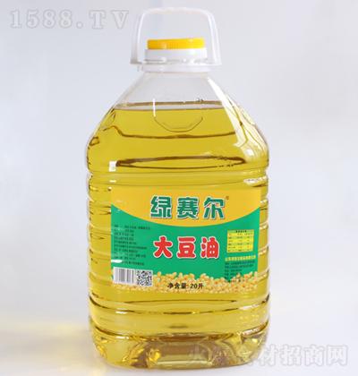 绿赛尔 大豆油 20升