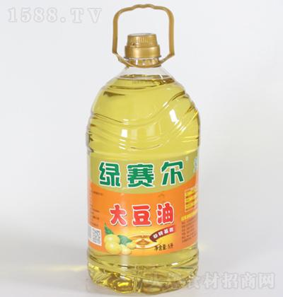 绿赛尔 大豆油 5L