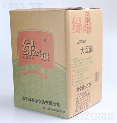绿赛尔 软包装大豆油 20L