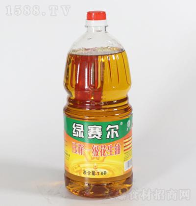 绿赛尔 压榨一级花生油 1.8L