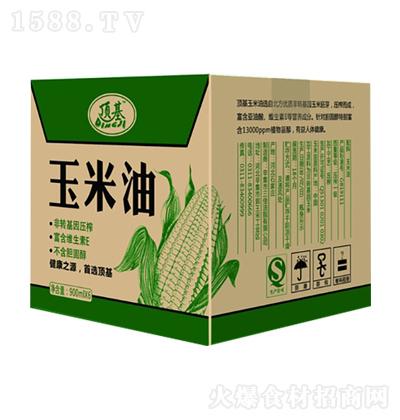 顶基 玉米胚芽油 900mlx6