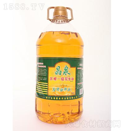 晶泉 压榨一级花生油(大桶)