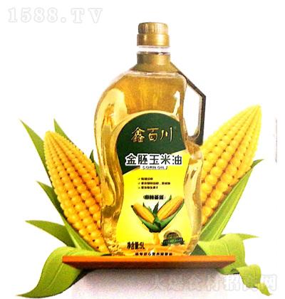 鑫百川 金胚玉米油 5L