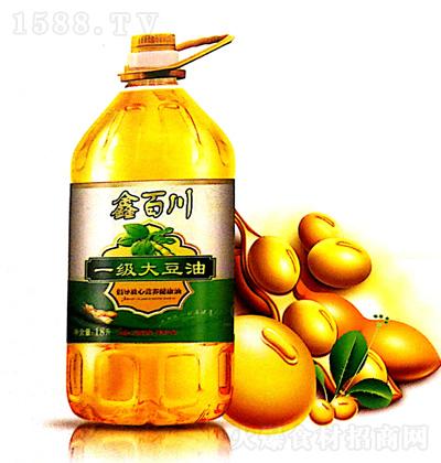 鑫百川 一级大豆油 1.8L