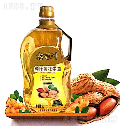 鑫百川 纯压榨花生油 5L