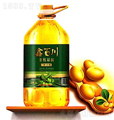 鑫百川 一级大豆油 5L