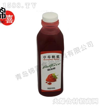 安德鲁 随果乐草莓糖浆 850ml