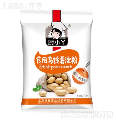 厨小丫 食用马铃薯淀粉 300克
