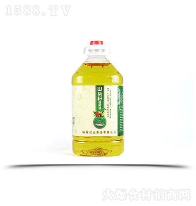 雾仙山 山茶油食用植物调和油 5L家庭装