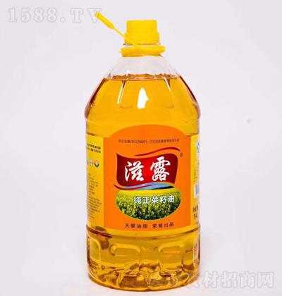 滋露 纯正菜籽油 5L