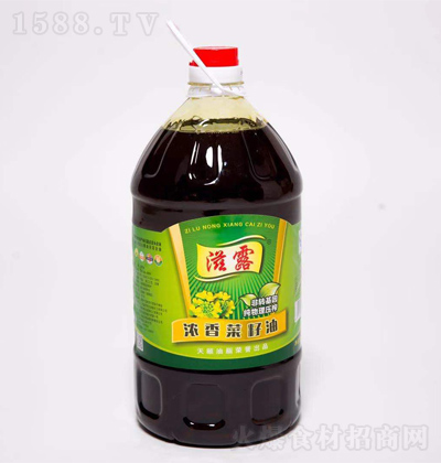 滋露 浓香菜籽油