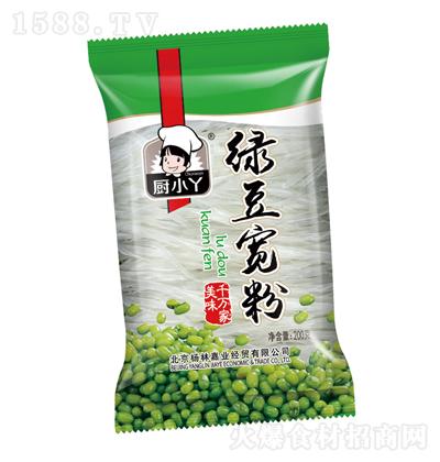 厨小丫 绿豆宽粉 200克