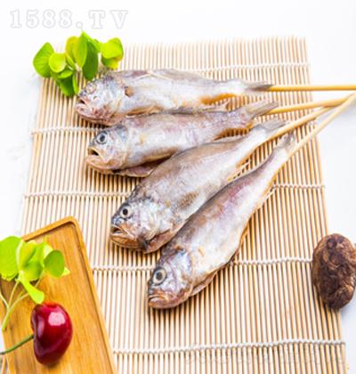 海成 原味黄花鱼串