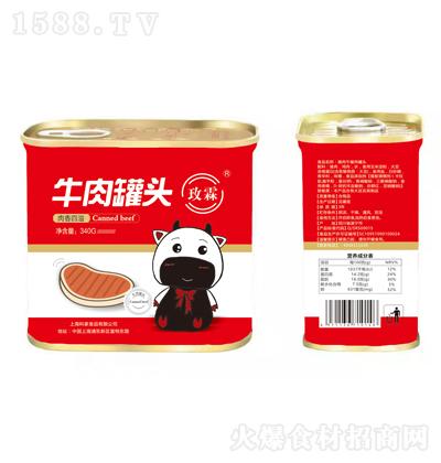 玫霖 牛肉罐头 340g