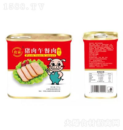 玫霖 猪肉午餐肉罐头 340g