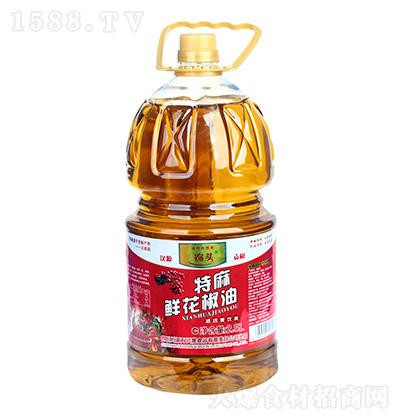 农头 特麻鲜花椒油(酒店餐饮装)2.5L