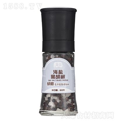 象国 海盐黑胡椒(研磨瓶) 60克