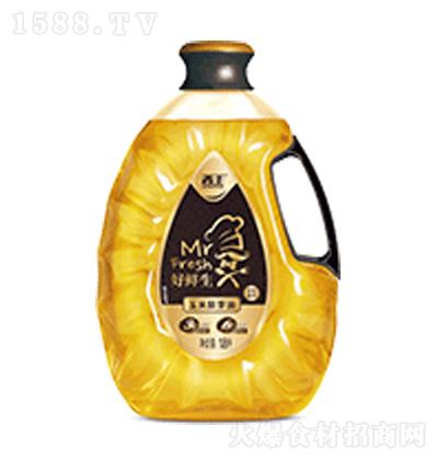 好鲜生 玉米胚芽油黑金装 1.8L