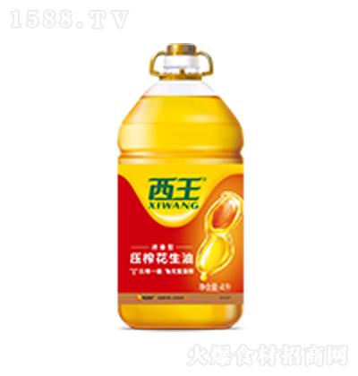 西王 花生油 4L