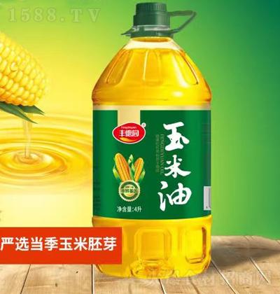 丰德园 玉米油 4L