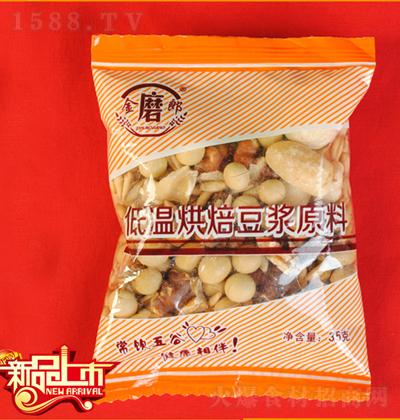 金磨郎 花生核桃豆浆原料包 35g
