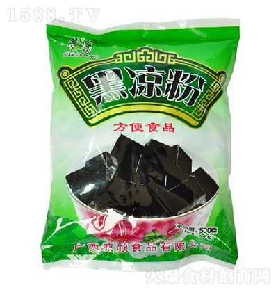 仙草坊 黑凉粉 500克