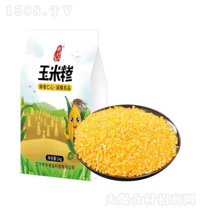 耕者良品 精品玉米碴 1kg